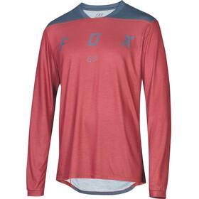 Fox Indicator Mash Camo maglietta a maniche lunghe Uomo rosso